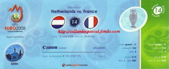 Euro 2008 : France - Pays-Bas