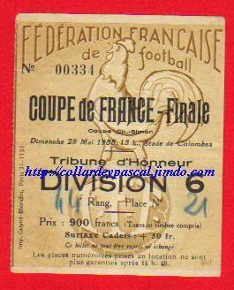 1955  Lille OSC  bat  G. Bordeaux  5 - 2