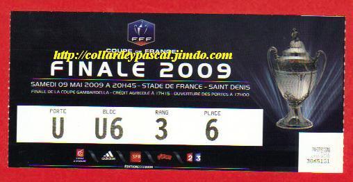 2009 : EA Guingamp bat Stade Rennes  2 - 1