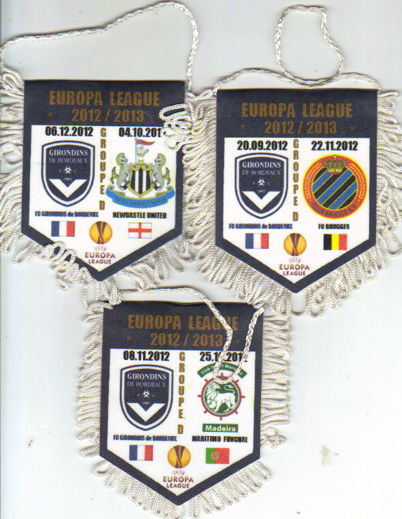 "Ligue Europa 2012/13 Tirage ""Privé"" Bruges, Newcastle et Maritimo Phase de Groupe"