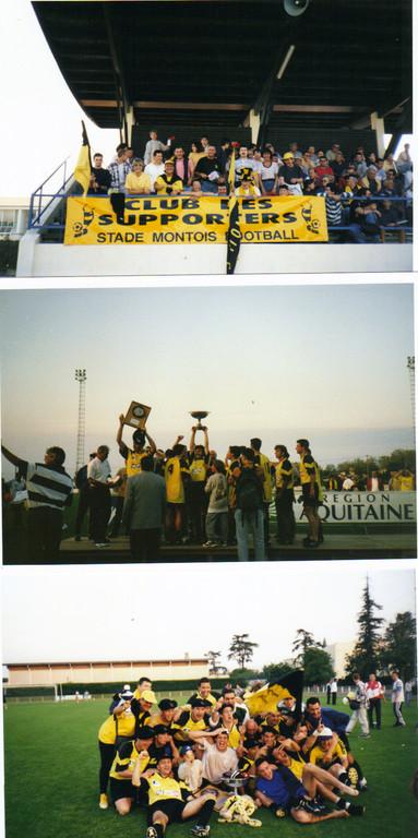 Nos fidéles supporters, Finale et Titre Coupe d'Aquitaine 1998