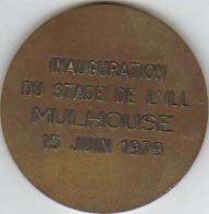 Inauguration du Nouveau Stade de l'Ill (Mulhouse 15/06/1979)