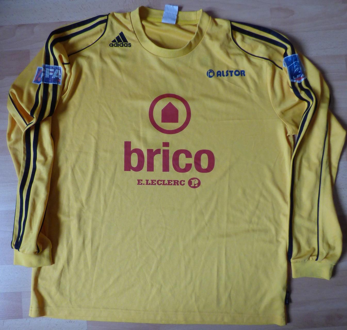 Maillot Montée CFA 2011, dédicacé saison 2011/12