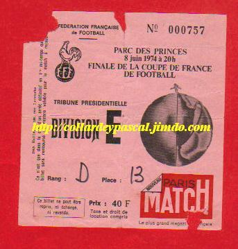1974: AS St Etienne bat AS Monaco  2 - 1