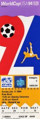 Finale Coupe du Monde 1994 : Brésil - Italie (USA)