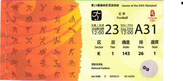 2008 Pékin : FINALE Argentine - Nigéria