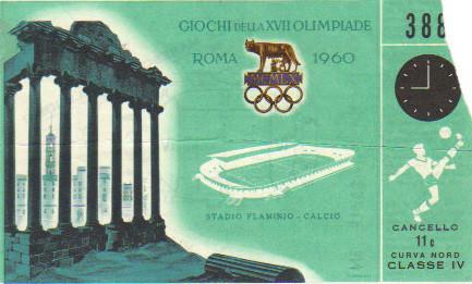 1960 Rome : France - Hongrie