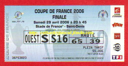 2006 : Paris SG bat Ol. Marseille  2 - 1