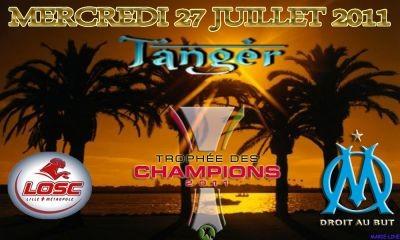 2011 à Tanger (Maroc) : Ol.Marseille 5 - 4 Lille OSC (Le ticket n'est pas illustré ici et je cherche ce ticket pour la collection. Merci pour vos offres ;-)  )