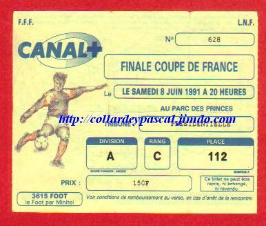 1991: AS Monaco bat Ol. Marseille 1 - 0