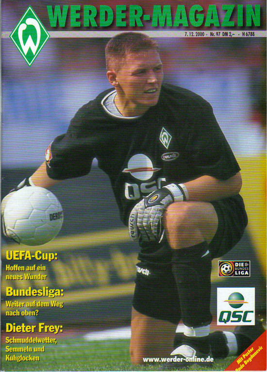 Werder Brême - Girondins Coupe Uefa, pas de programme de match à Bordeaux