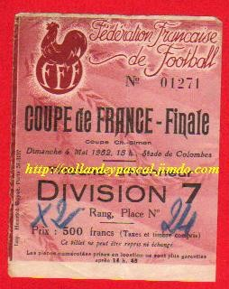 1952  OGC Nice  bat  G. Bordeaux  5 - 3