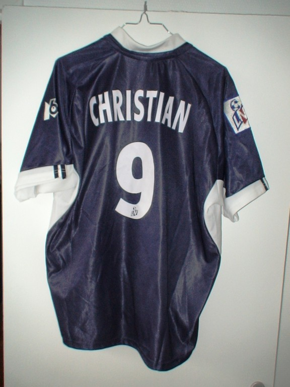 Christian -  Amical C/ Bologne 2001