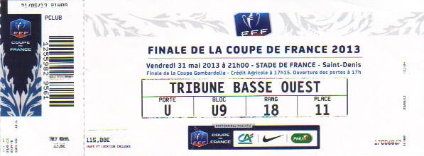 2013 : G. Bordeaux bat Evian Thonon Gaillard 3 - 2