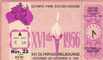 1956 Melbourne : Urss - Allemagne