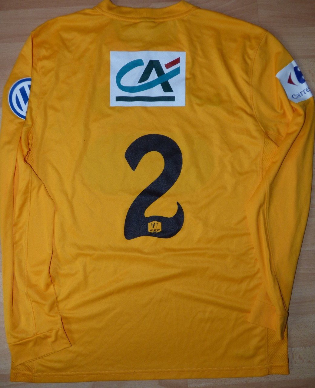 Maillot Coupe de France épopée 2015/16