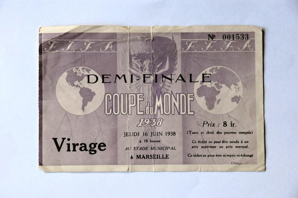 1/2 Finale Italie - Brésil (France 1938)
