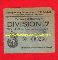 1945  RC Paris  bat  Lille OSC  3 - 1
