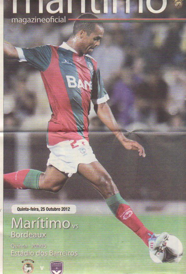 Maritimo Madeira - Girondins Ligue Europa 2012/13