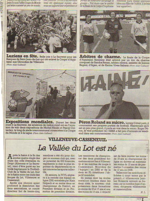 80 Ans Ligue d'Aquitaine 2000 Sud Ouest