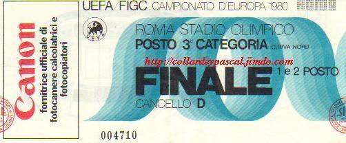 Euro 1980 en Italie, Finale Allemagne de l'Ouest - Belgique