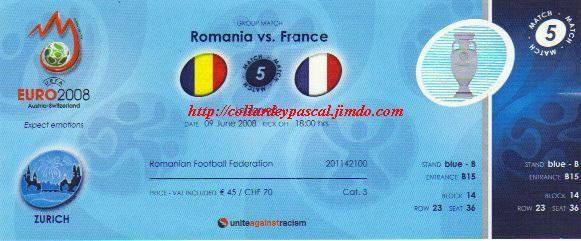 Euro 2008 : France - Roumanie