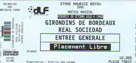 Girondins - Réal Sociedad