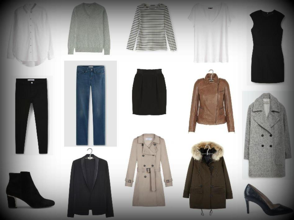 les 15 basiques de la garde-robe - dressing thérapie - styliste