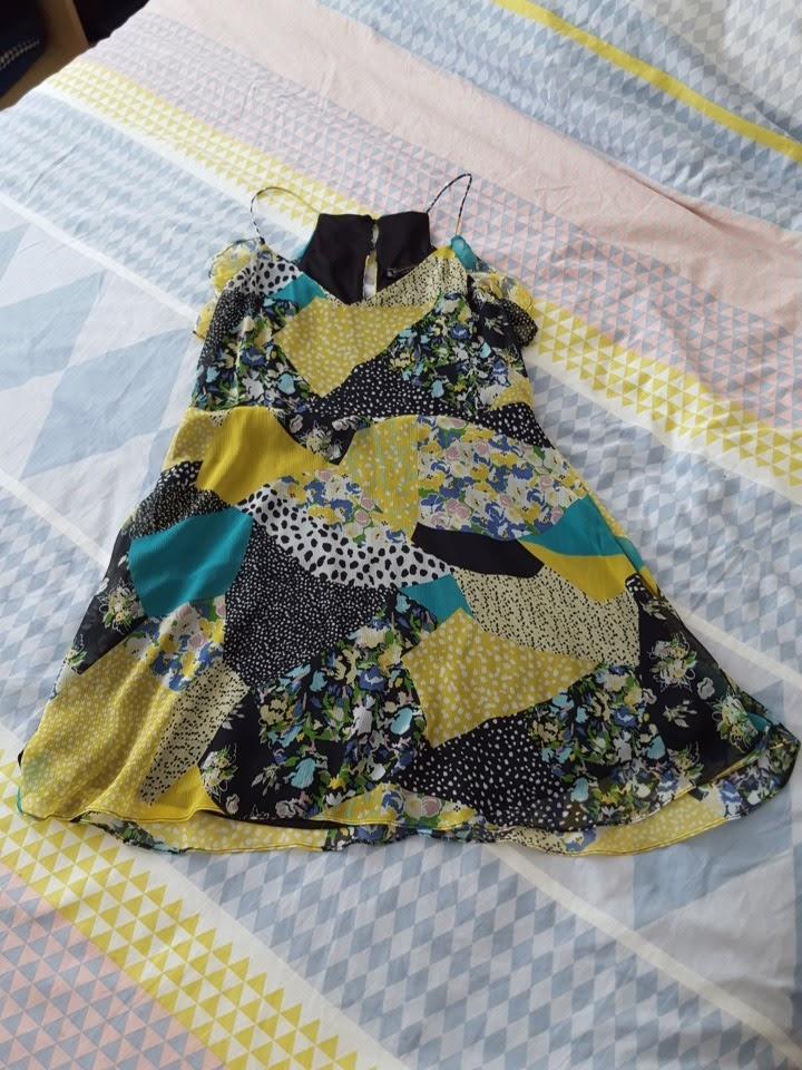Ma robe patchwork Zara