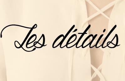 Tendances printemps été 2016 les détails (franges, lacets, pompons)