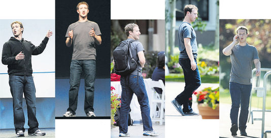Uniforme Mark Zuckerberg
