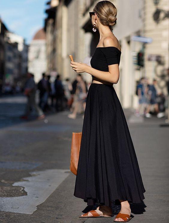 Total look noir - tendances-de-mode.com