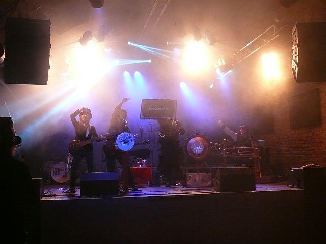 Steamtropolis Witten Livemusik Bühne