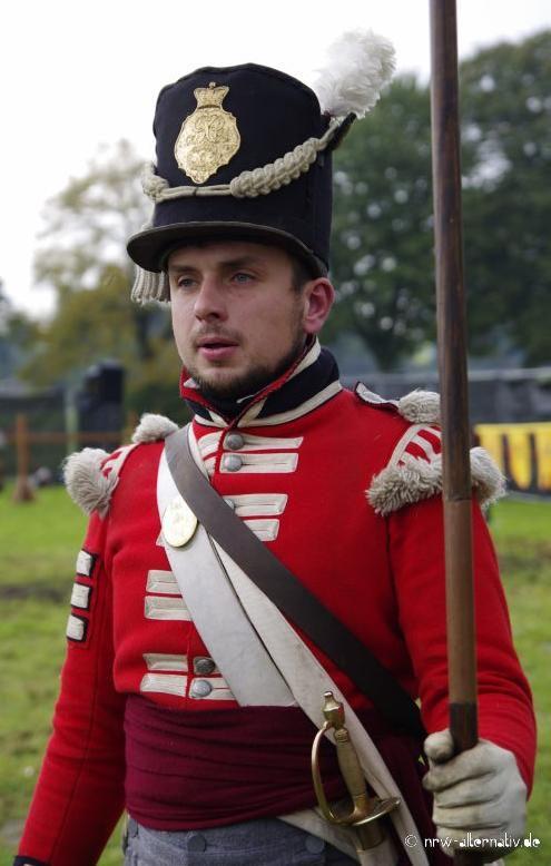 Offizier um 1812 auf der Mindener Reenactormesse