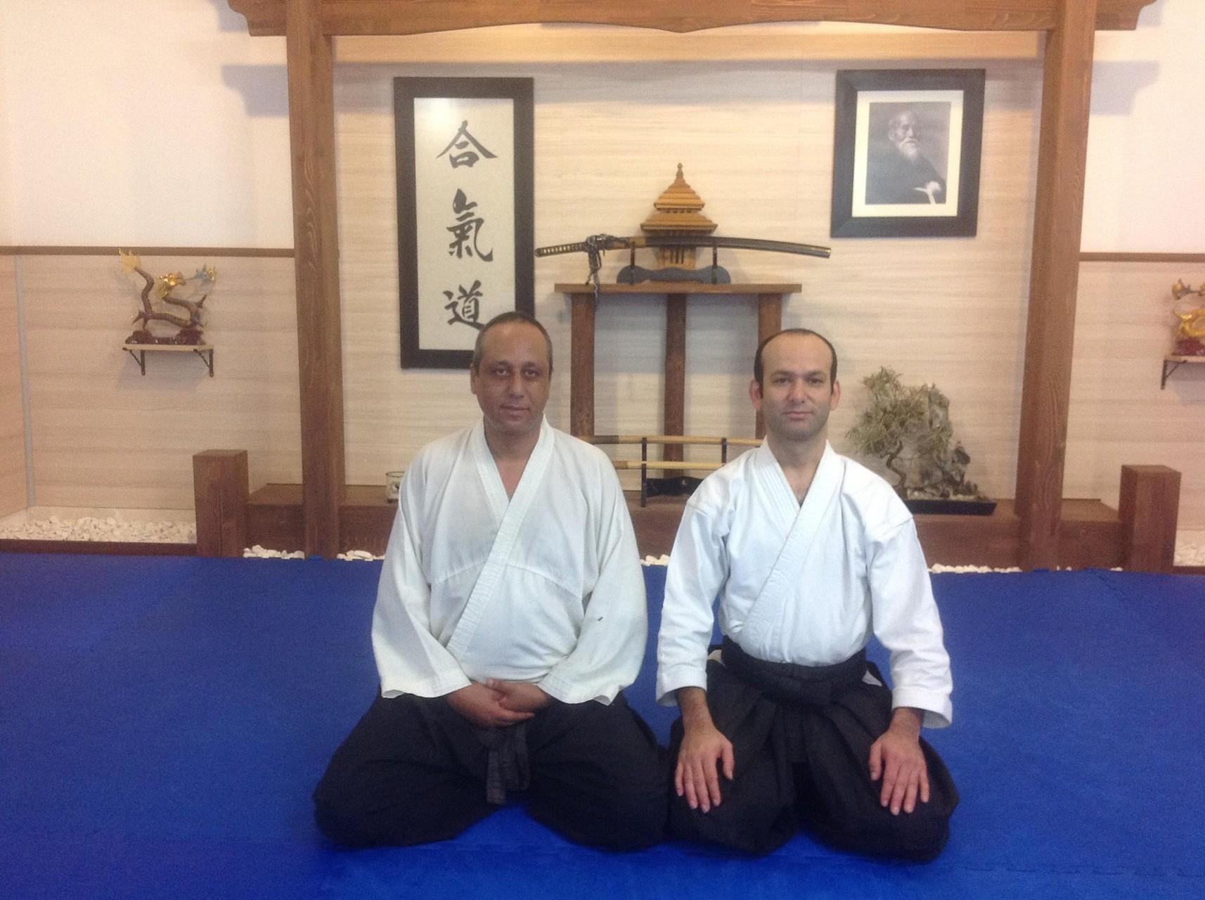 Visite du dojo de Aikikai Ankara avec le maitre Oğuzhan YILMAZ élève de Ayhan KAYA Sensei