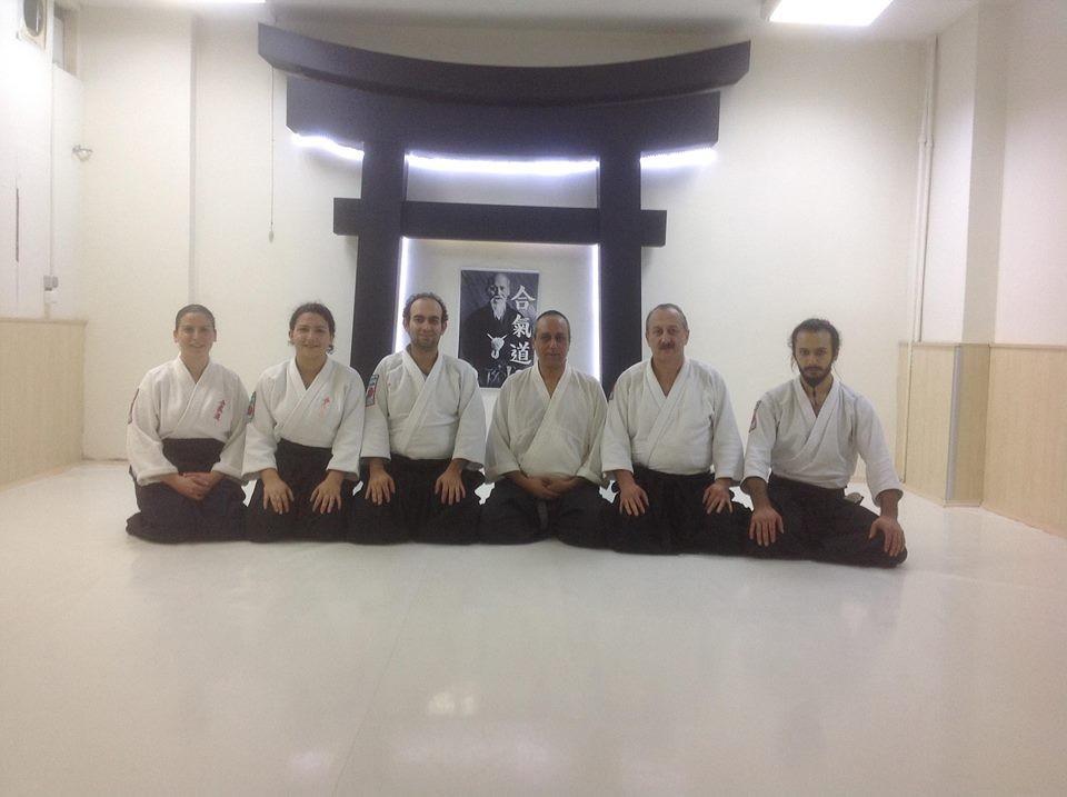 Visite Aikido en Turkie Novembre 2014 : Ankara Torri Dojo avec le maître Resul Baysal 2