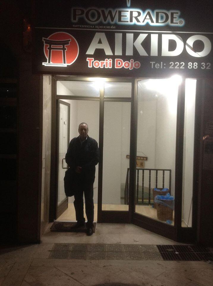 Visite Aikido en Turkie Novembre 2014 : Ankara Torri Dojo avec le maître Resul Baysal 1