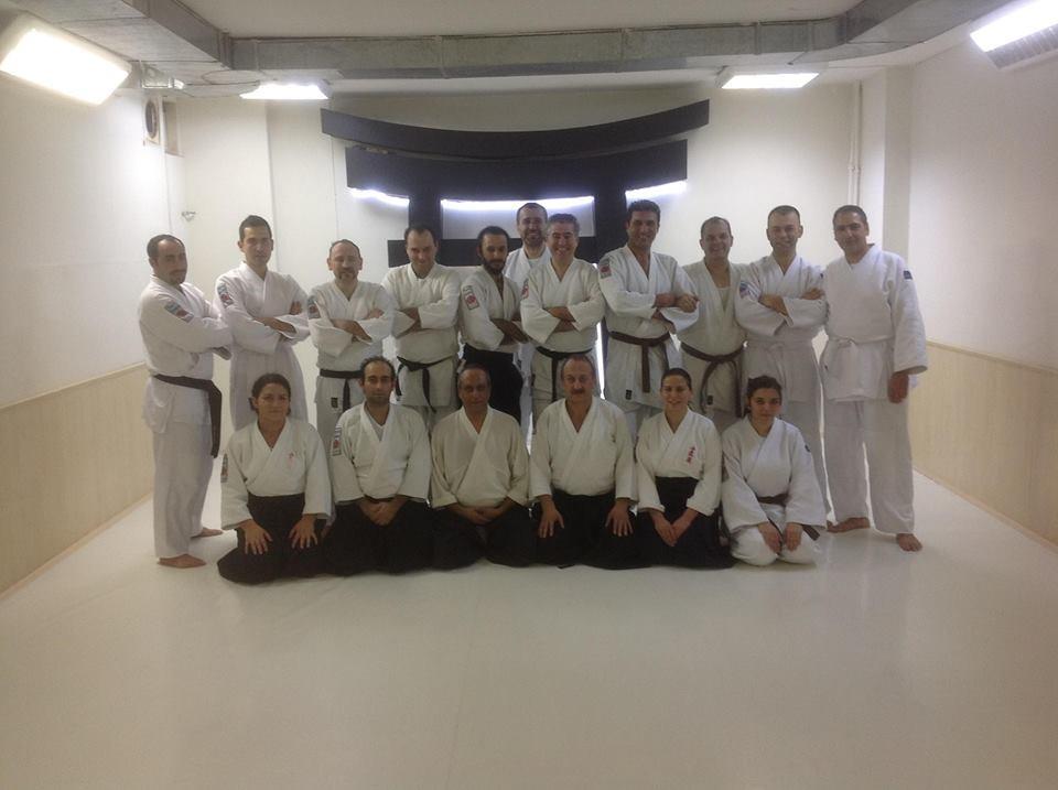 Visite Aikido en Turkie Novembre 2014 : Ankara Torri Dojo avec le maître Resul Baysal 3