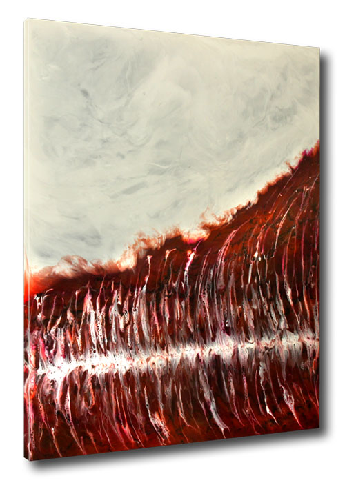 """Temptation"" Resin Painting by Michael Stowasser"