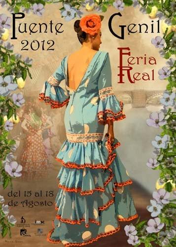 Cartel anunciador de la feria Real 2012