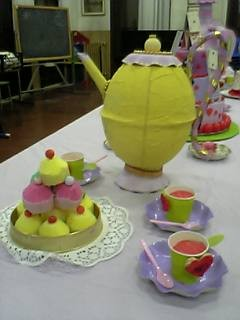 The Yellow Teapot ,  the Marshmallow Hill