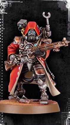 Modellino di Skitarii Ranger Warhammer 40K