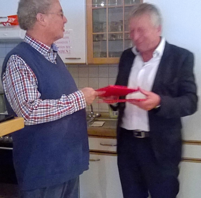 Ehrung: SPD – Mitglied seit 50 Jahren / Glückwunsch!