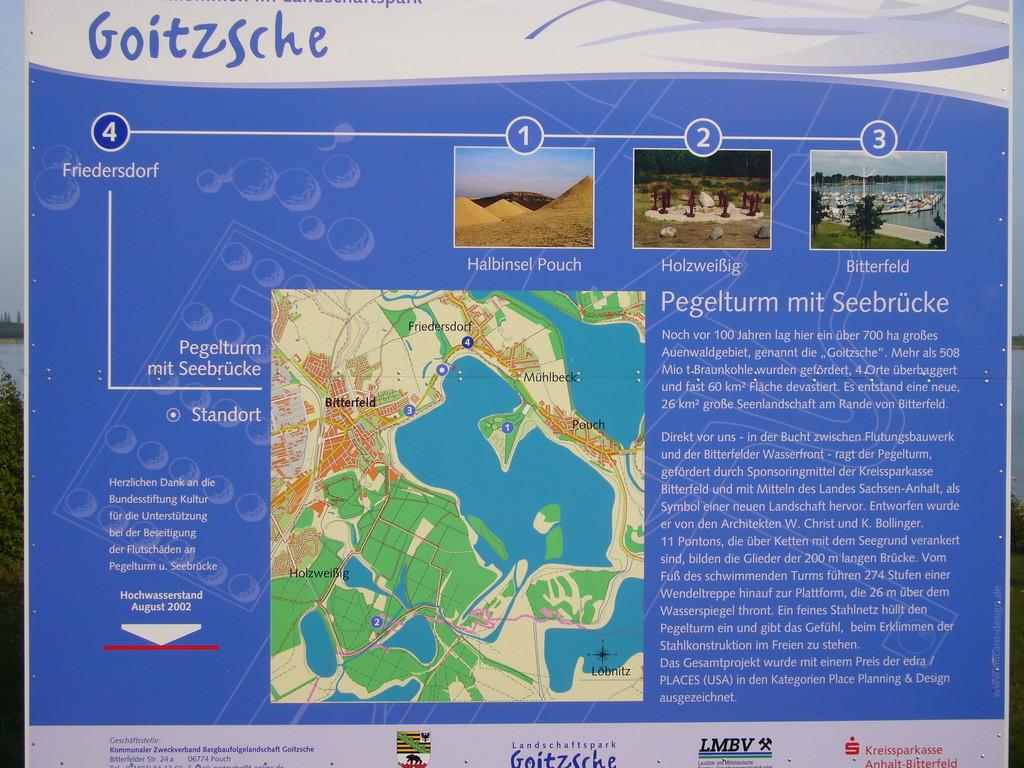 die Goitzsche - ein ehemaliger Tagebau auf dem Weg zur Perle in Mitteldeutschland