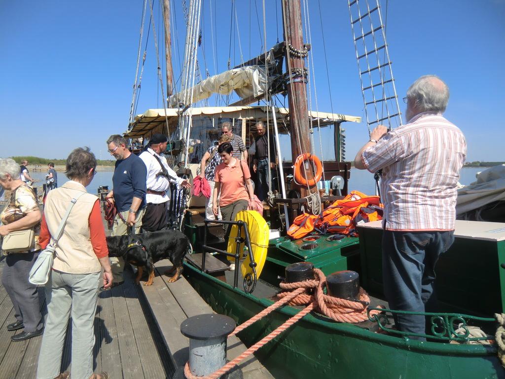.. nach reichlich 1,5 Std. war eine kurzweilige Bootstour auch schon zu Ende