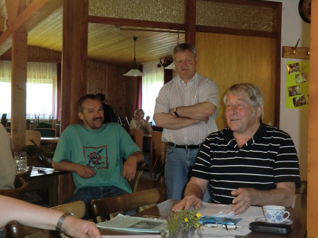 ... die Gastgeber übergeben den Staffelstab an den Organisator der nächsten Club-Vergleichsschau