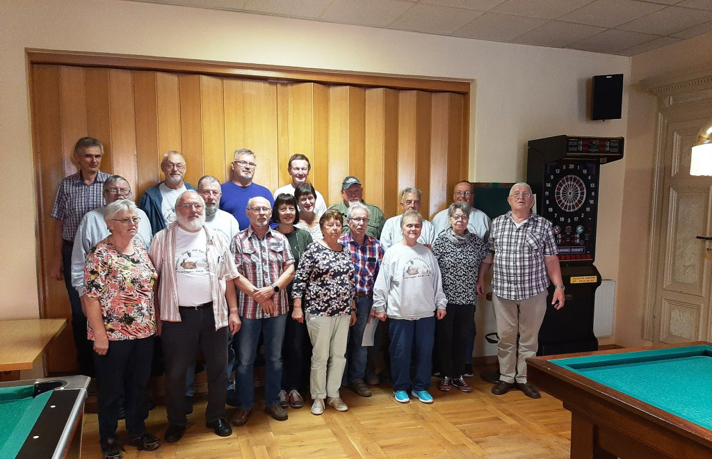 Mitgliederversammlung bei Stollberg(Erz)