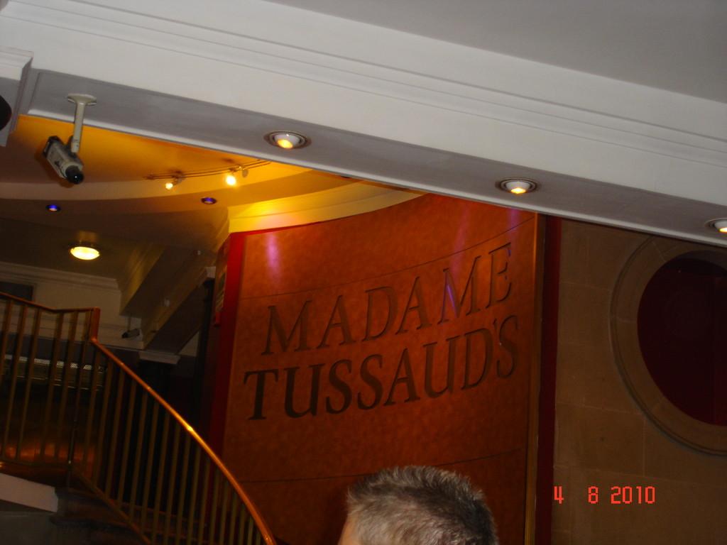 Die folgenden Bilder von Madame Tussauds