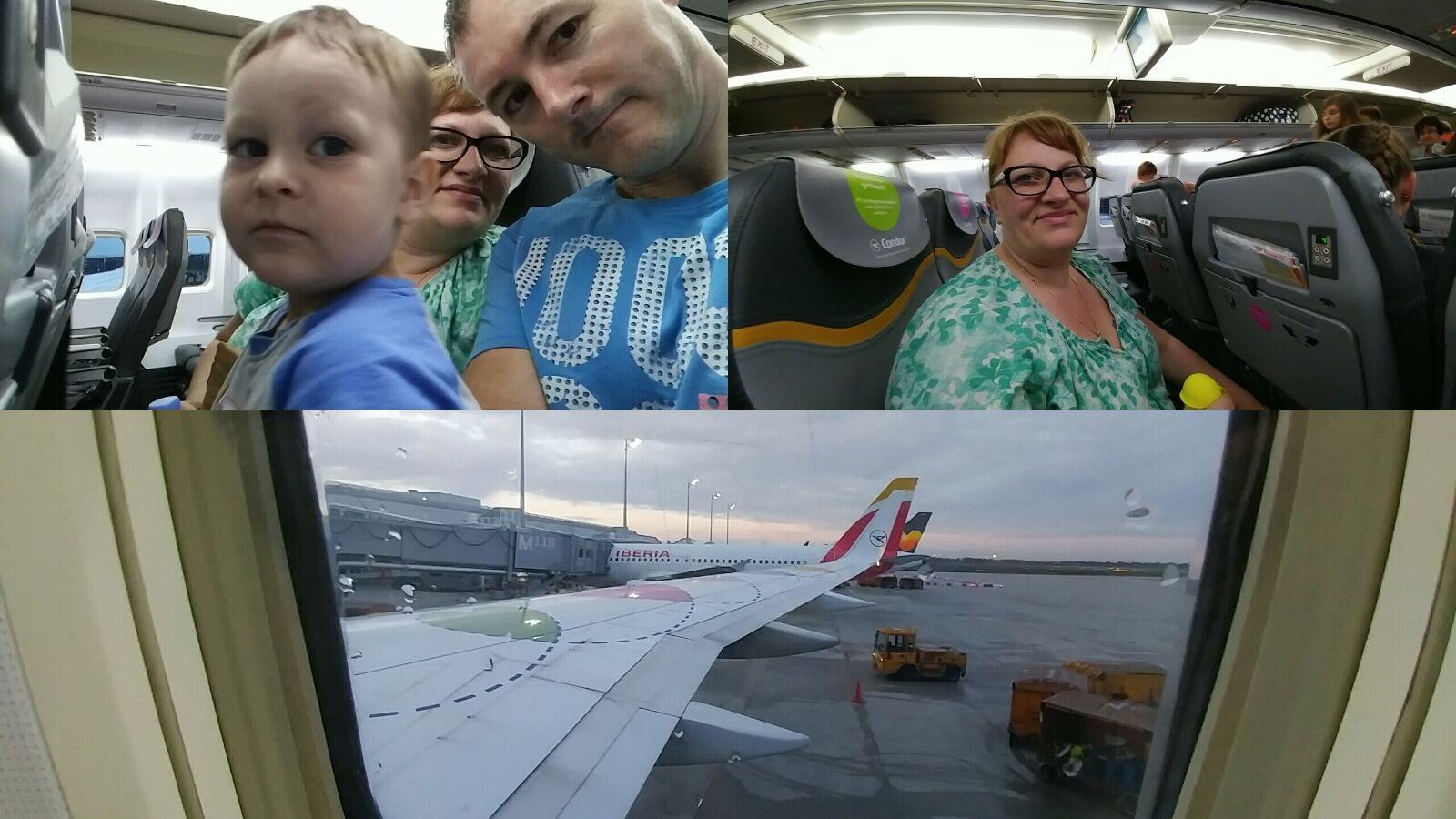 ... der Flug verging sehr schnell