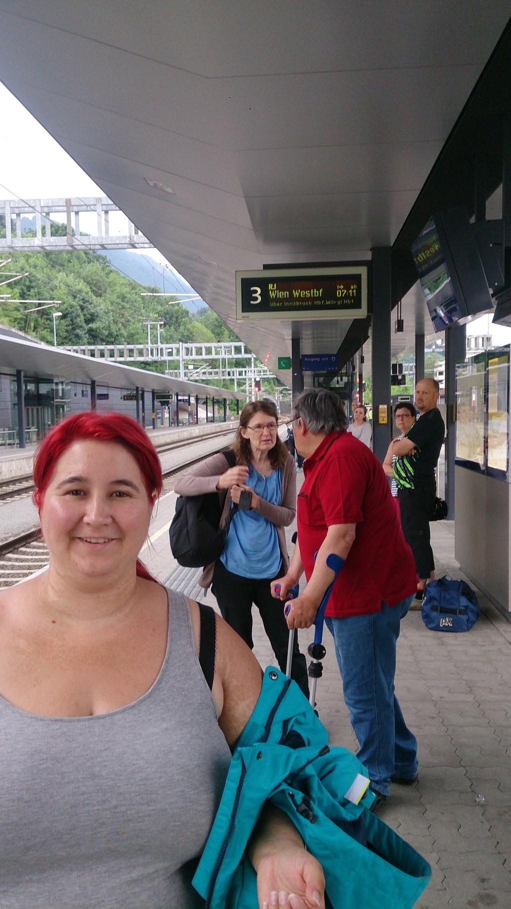 Abfahrt nach Salzburg
